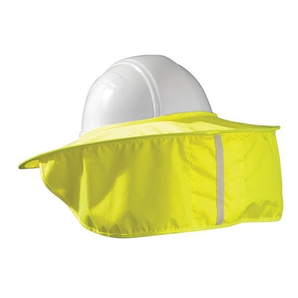 OccuNomix Stow-Away Hard Hat Shade, Hi-Vis Yellow