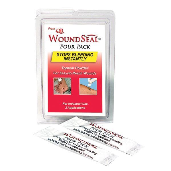 """WoundSealâ""""¢ Blood Clot Powder, Pour Packs, 2 ea"""