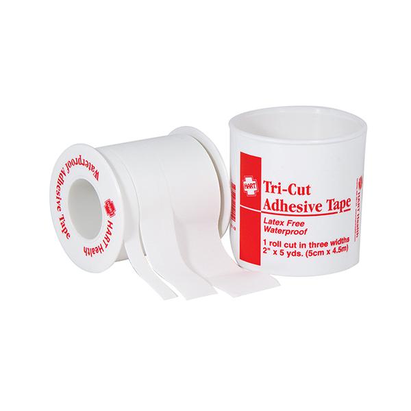 """Waterproof Triple Cut First Aid Tape, 2"""" x 5 yd, 6/Box"""