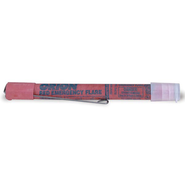 Red Safety Flares, 30-Minute w/ Wire Stand, 36/Case