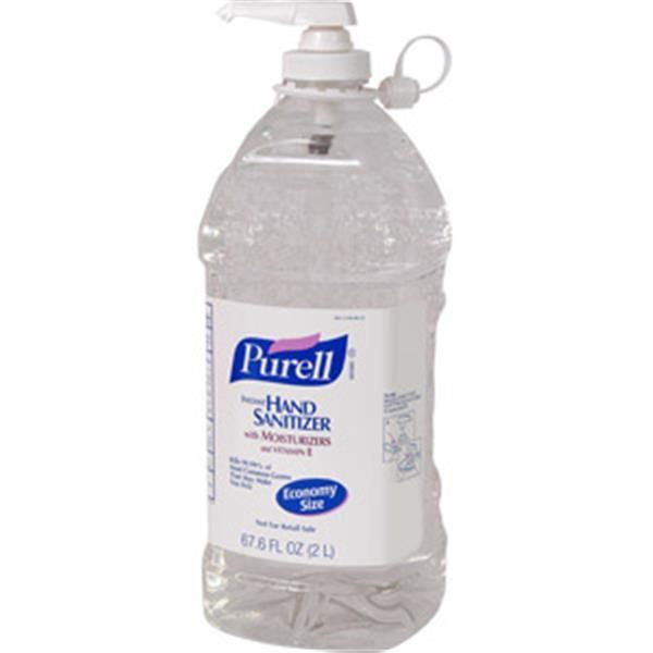 Purell® Advanced Instant Hand Sanitizer, 2 L Pump Bottle, 4/Case