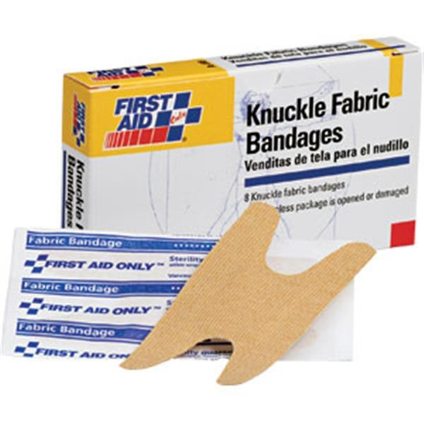Fabric Knuckle Bandages, 8/Box