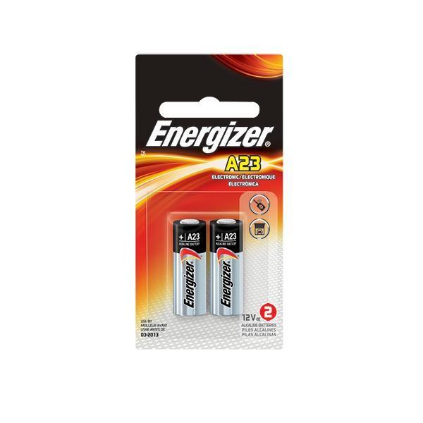 Energizer® A23 Batteries, 2/Pkg