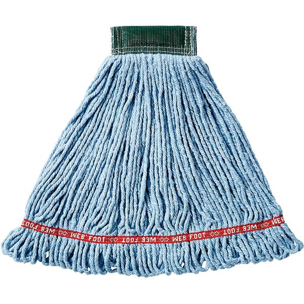 """Rubbermaid® Web Foot® Shrinkless® Wet Mop, 5"""" Headband"""