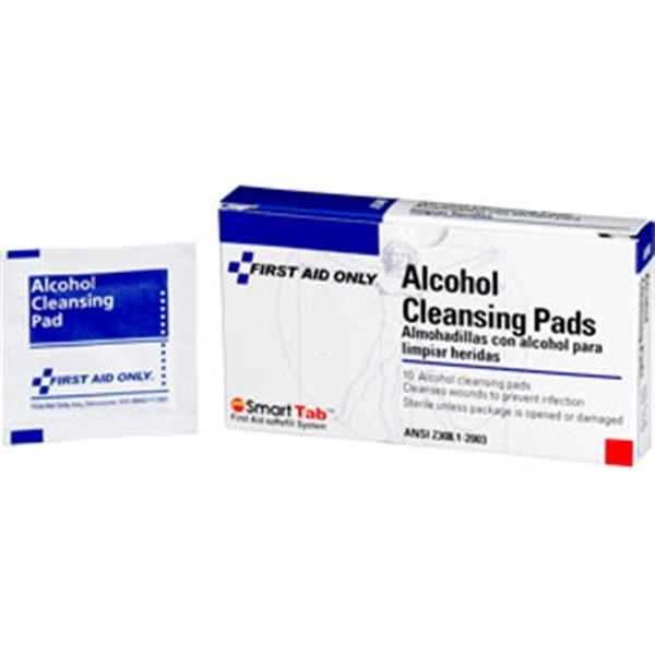Alcohol Cleansing Pads, 10/Box
