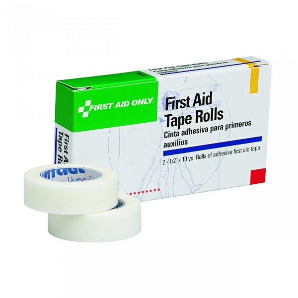 "First Aid Tape (Unitized Refill), 1/2"" x 10 yd, 2 Rolls/Box"