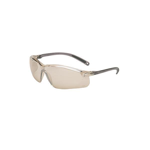 Uvex® A700 Series Eyewear, Gray Frame, Indoor/Outdoor Silver Mirror Lens