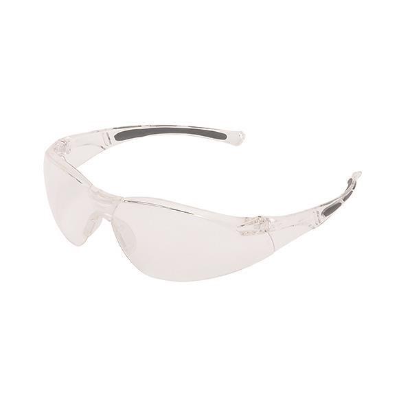 Uvex® A800 Series Eyewear, Clear Frame, Clear Lens