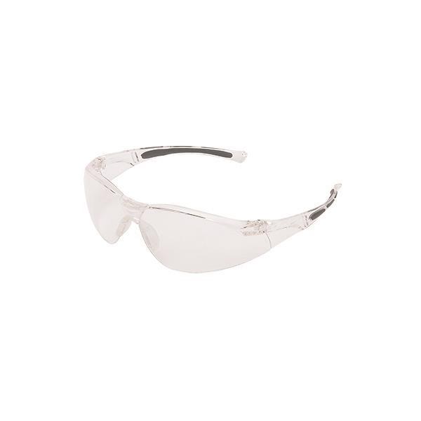 Uvex® A800 Series Eyewear, Clear Frame, Clear Anti-Fog Lens
