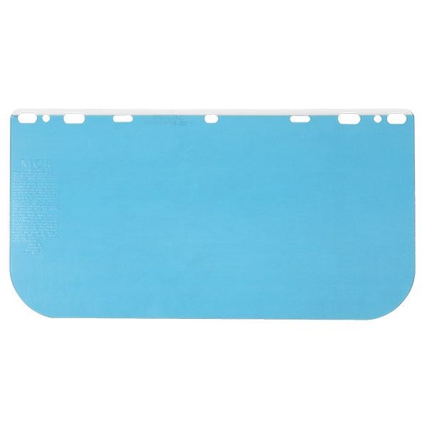 """MCR Safety® Universal Polycarbonate Face Shield, 8"""" x 15 1/2"""" x 0.04"""""""
