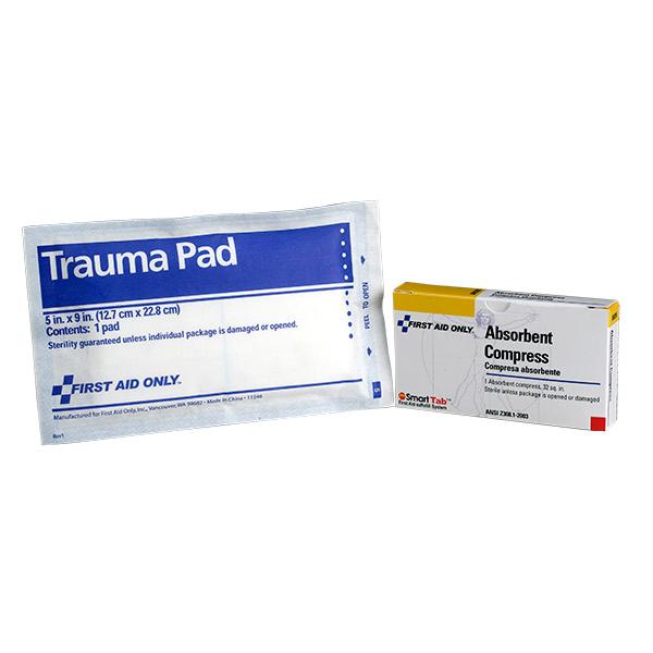 "Trauma Pad (Unitized Refill), 5"" x 9"""