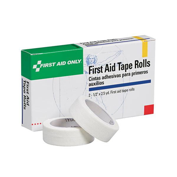 "First Aid Tape (Unitized Refill), 1/2"" x 2 1/2 yd, 2 Rolls/Box"