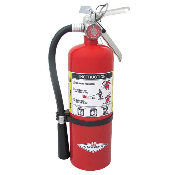 Amerex® 5 lb ABC Extinguisher w/ Aluminum Valve & Wall Hook