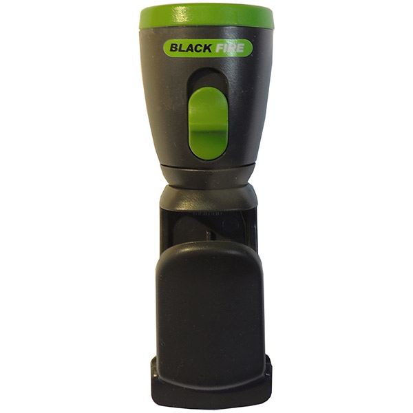 Blackfire® 3LR44 LED Mini Clamplight, Green, 1/Pkg