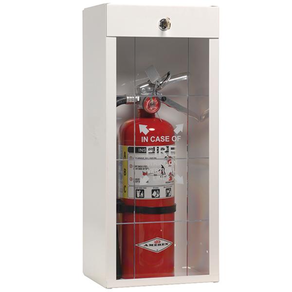 """JL Industries Classic Series Metal Extinguisher Cabinet, 19 13/16""""H x 8 1/2""""W x 6 1/4""""D"""