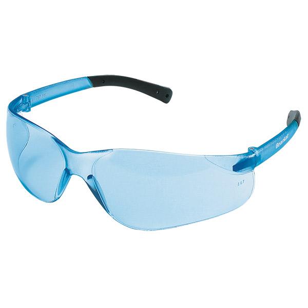 MCR Safety® BearKat® Safety Glasses, Light Blue Lens/Frame