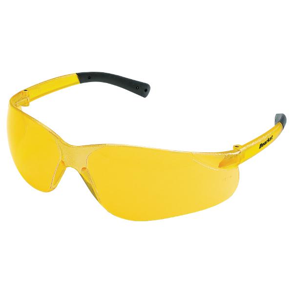 MCR Safety® BearKat® Safety Glasses, Amber Lens/Frame