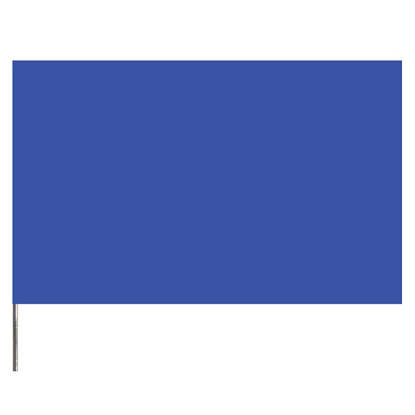 """Presco PresGlo Marking Flags, 21"""", Blue Glo, 100/Case"""