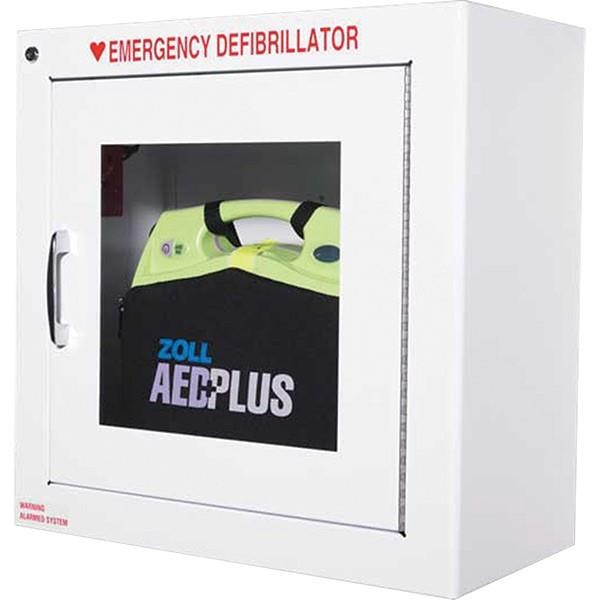 Zoll® AED Metal Wall Cabinet w/ Alarm