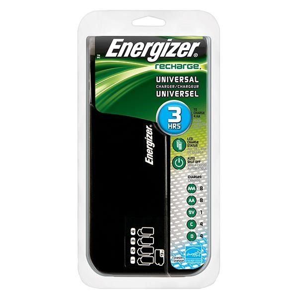 Energizer® Recharge® Family Charger (For AA/AAA/C/D/9V Batteries)