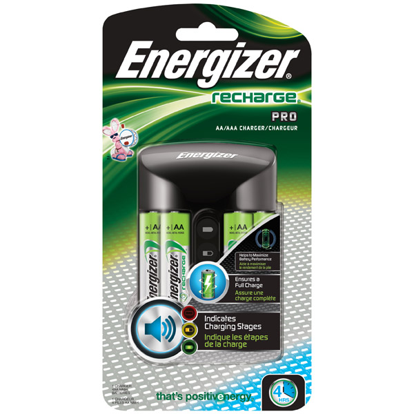 Energizer Recharge® Smart Charger (For AA/AAA NiMH Batteries)