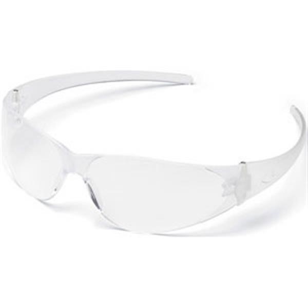 MCR Safety® Checkmate® Eyewear, Clear Uncoated Frame/Lens