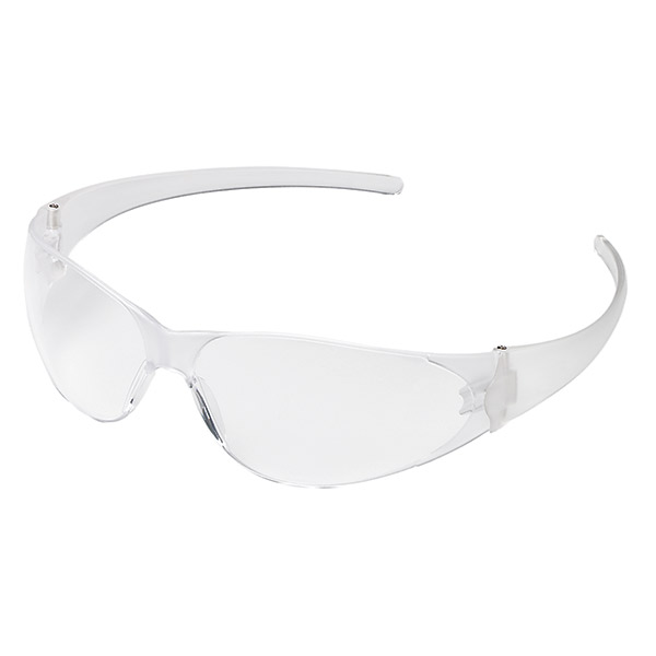 MCR Safety® Checkmate® Eyewear, Clear Frame/Lens
