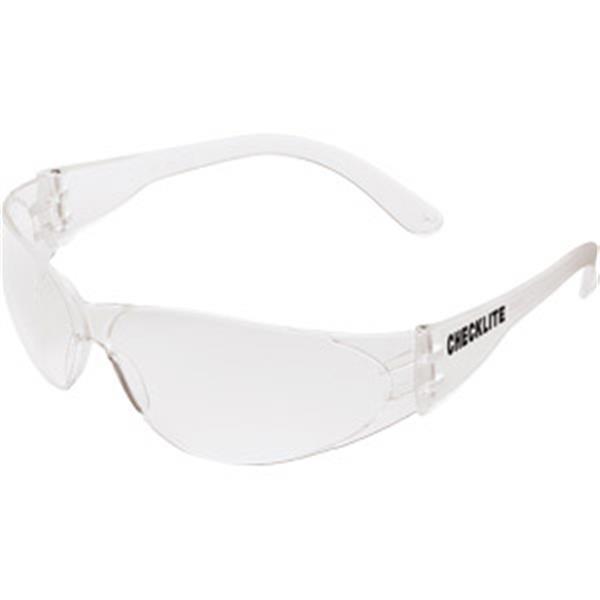 MCR Safety® Checklite® Eyewear, Clear Frame/Lens