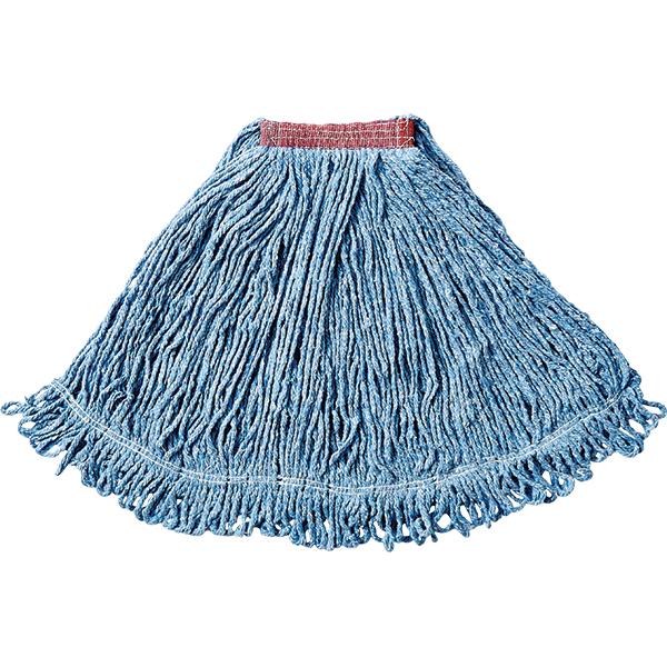 "Rubbermaid® Super Stitch® Blend Mop, 1"" Headband, Blue"