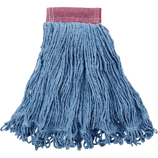 "Rubbermaid® Super Stitch® Blend Mop, 5"" Headband, Blue"