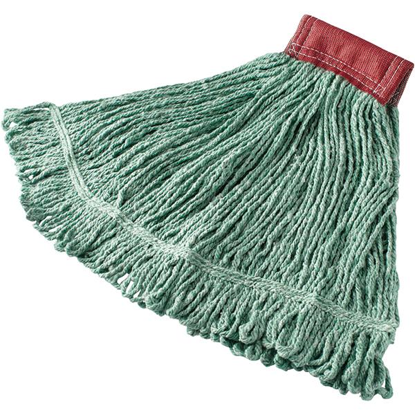 "Rubbermaid® Super Stitch® Blend Mop, 5"" Headband, Green"