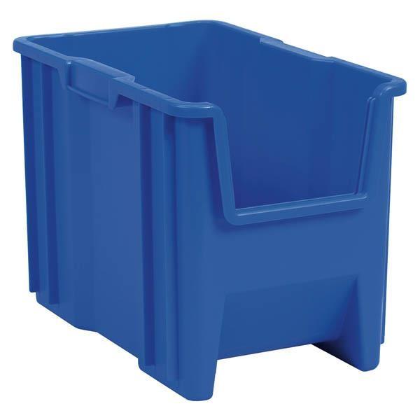 "Akro-Mils® Stak-N-Store Bin, 17 1/2""L x 12 1/2""H x 10 7/8""W, Blue"