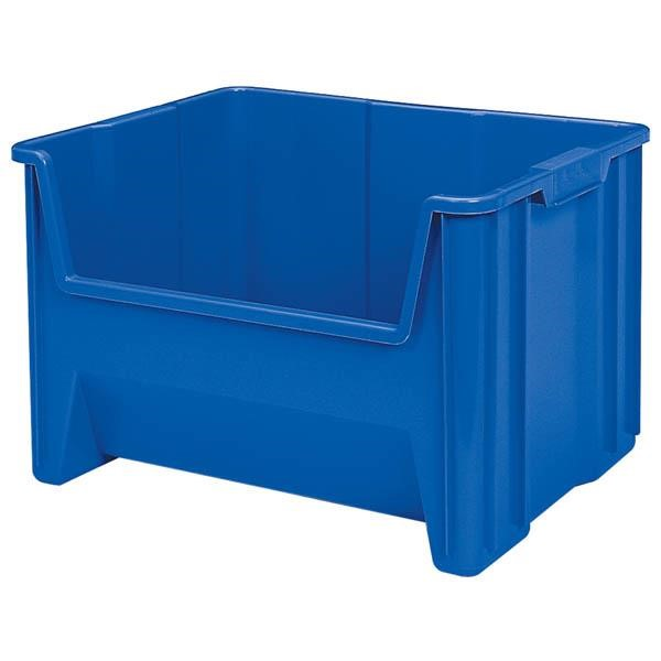 "Akro-Mils® Stak-N-Store Bin, 15 1/4""L x 12 7/16""H x 19 7/8""W, Blue"