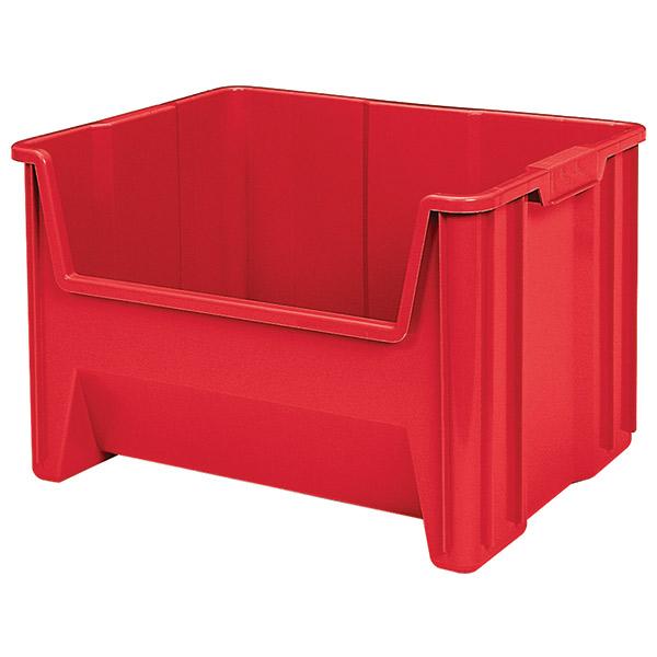 "Akro-Mils® Stak-N-Store Bin, 15 1/4""L x 12 7/16""H x 19 7/8""W, Red"