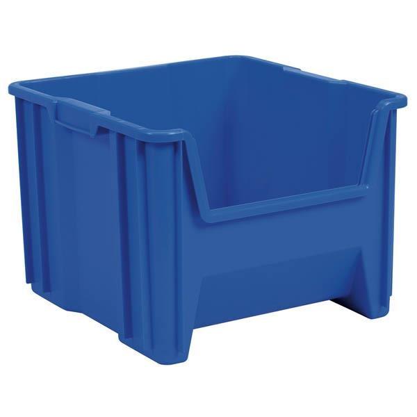 "Akro-Mils® Stak-N-Store Bin, 17 1/2""L x 12 1/2""H x 16 1/2""W, Blue"