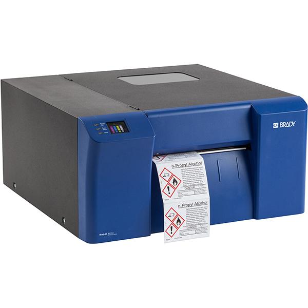 Brady® BradyJet J5000 Industrial InkJet Color Label Printer