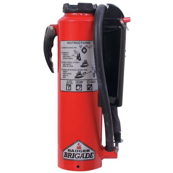 "Badgerâ""¢ Brigade 10 lb Purple K Fire Extinguisher"
