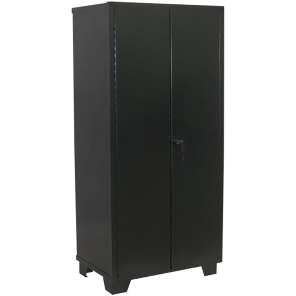 """Jamco Welded Steel Cabinet, Solid Doors, 78""""H x 48""""W x 18""""D"""