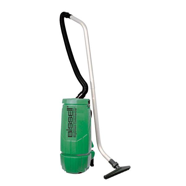 Bissell® BigGreen Commercial® Backpack Vacuum, 10 qt, 12 lb