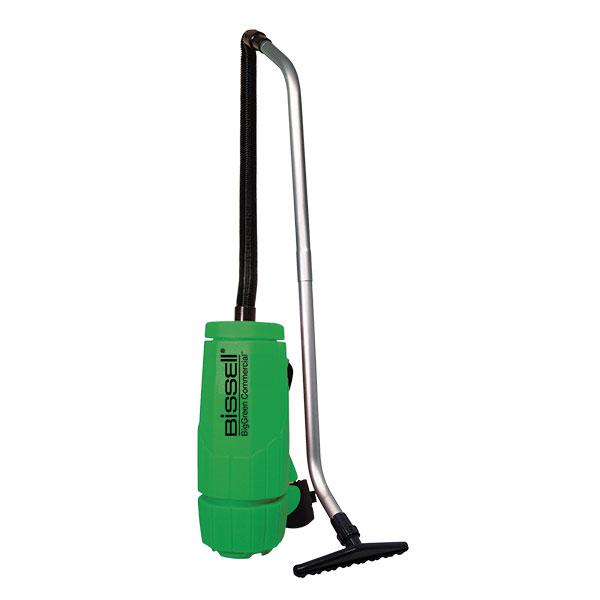 Bissell® BigGreen Commercial® Backpack Vacuum, 6 qt, 10 lb