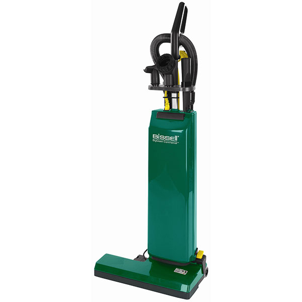 """Bissell® BigGreen Commercial® Dual Motor Upright Vacuum w/ On-Board Tools, 18"""" Cleaning Path"""