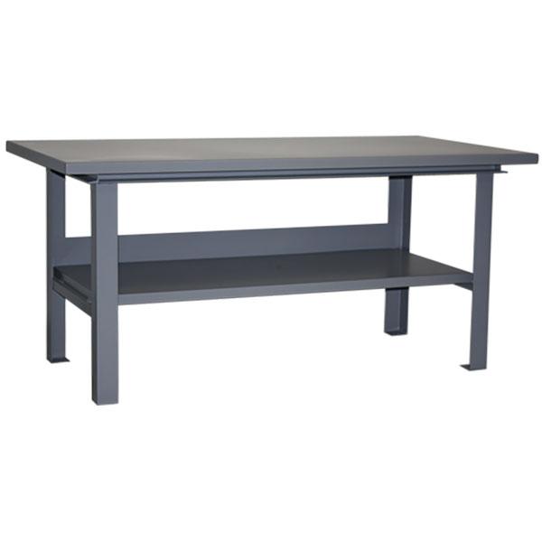 "Jamco Extra-Heavy-Duty Work Table, 8000 lb Capacity, 34""H x 60""W x 36""D"