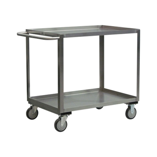 """Jamco Stainless Steel Service Cart, 30""""L x 35""""H x 18""""W"""