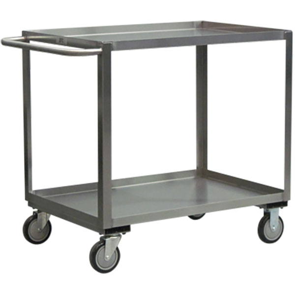 """Jamco Stainless Steel Service Cart, 48""""L x 35""""H x 24""""W"""