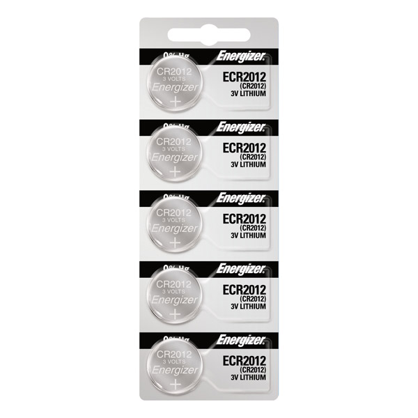 Energizer®  CR2012 Lithium Coin Cell Battery (3V)