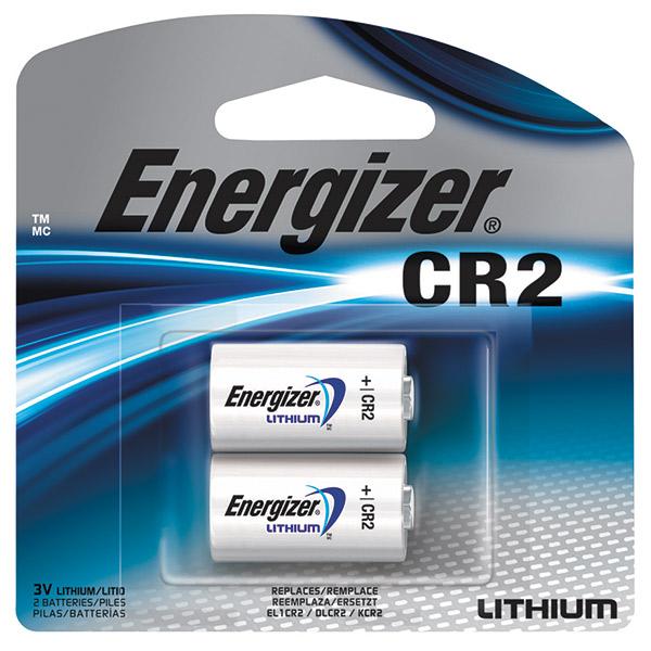 Energizer® Photo Lithium CR2 Battery, 2/Pkg