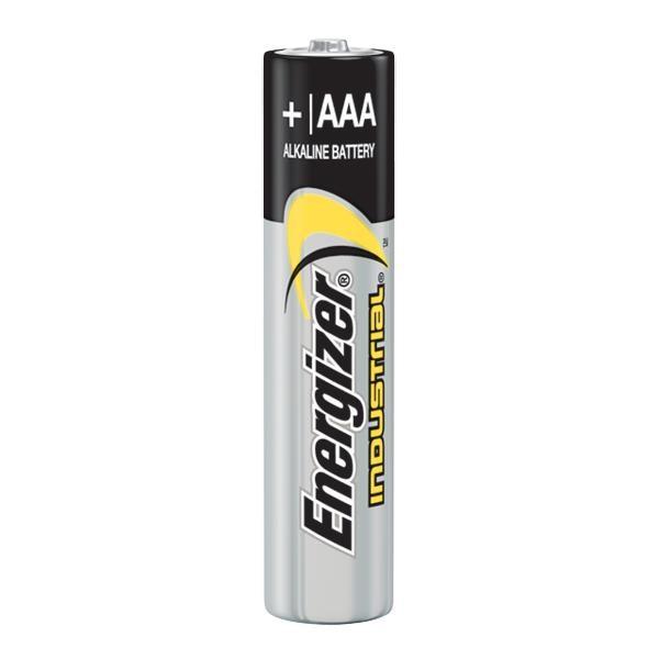Energizer® Industrial® AAA Alkaline Batteries, 24/Pkg