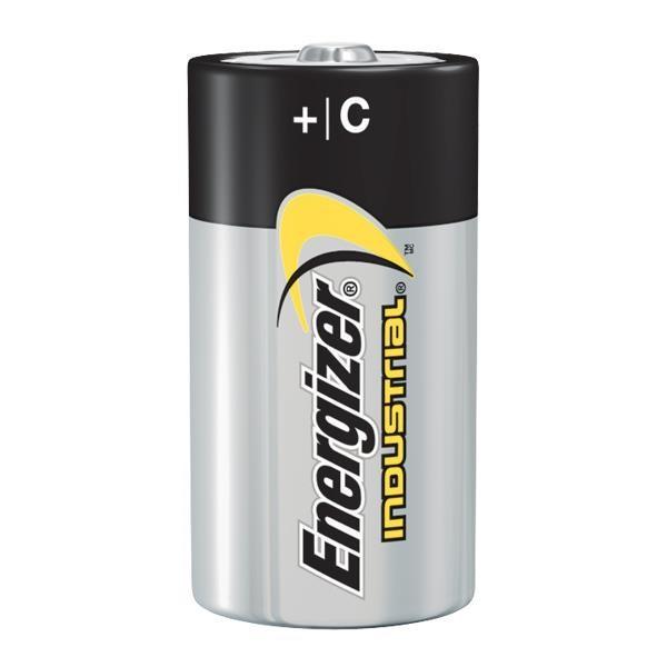 Energizer® Industrial® C Alkaline Batteries, 12/Pkg