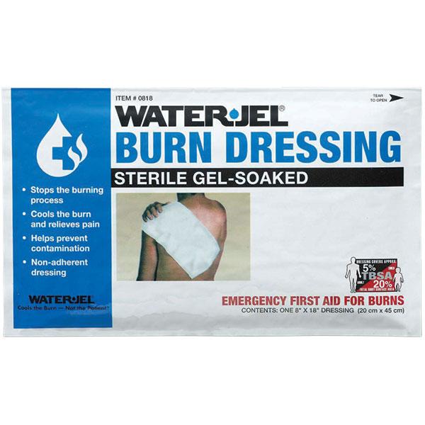 "Water-Jel® Burn Dressings, 8"" x 18"""