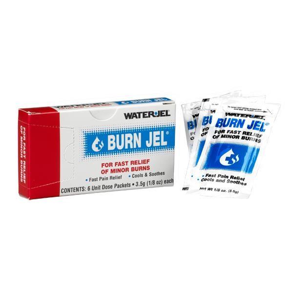 Water-Jel® Burn Jel, 3.5 g, 6/Pkg